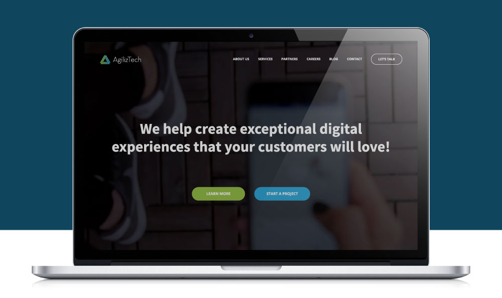 AgilizTech's new website