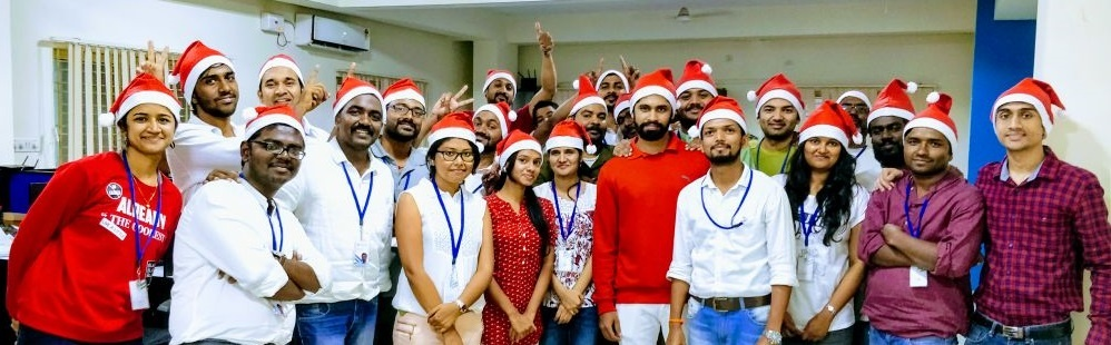 Christmas 2017 celebrations at AgilizTech