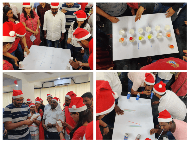 christmas celebrated with games